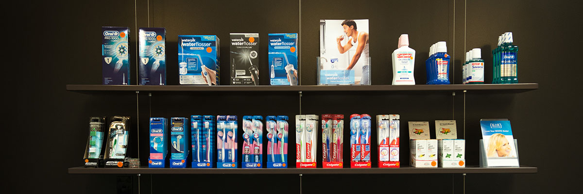 We have an extensive range of dental products available for purchase.